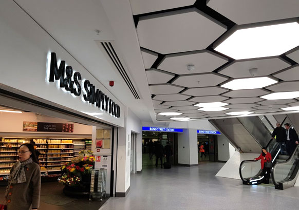 Large scale shopping centre renovation